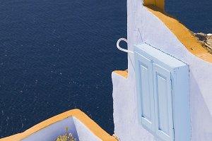 Terrace in Oia, Santorini