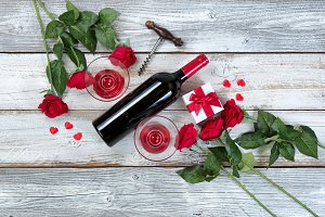 Red Wine Romance for Valentines