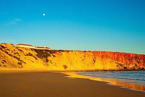 Ocean beach, Portugal