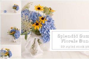 Splendid Summer Florals Mock Ups