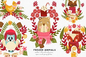 Frozen Animals