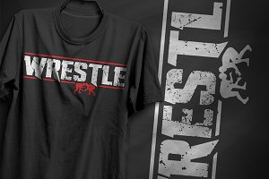 Wrestle - T-Shirt Design