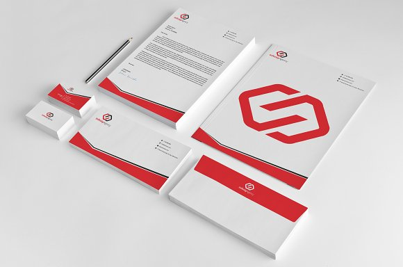 corporate stationery stationery templates creative market