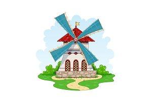 Vintage windmill.