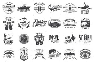 Fishing and diving club