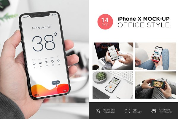 iPhone X Mock-Up's