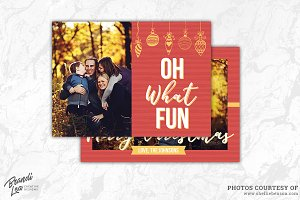 Photography Christmas Card Template