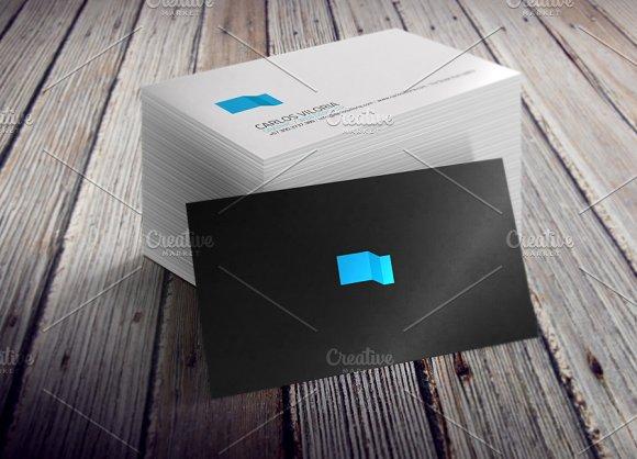 Business card mockups bundle product mockups creative market reheart Images