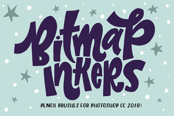 Bitmap Inkers For PHOTOSHOP CC2018