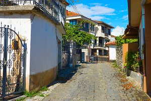 Old Town street of Ohrid
