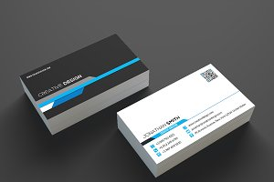 Modern Corporate Business Card SE334