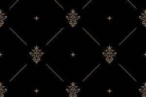Seamless dark pattern decor