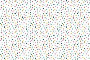 Confetti. Seamless pattern