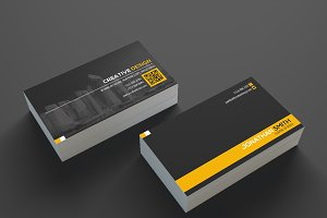 Modern Business Card Template SE335