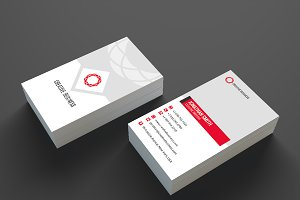 Modern Business Card Template SE336