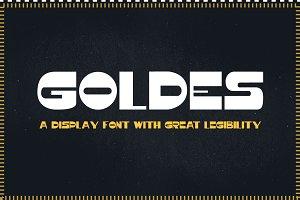 Goldes Font