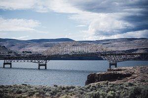 Vantage Bridge in Eastern Washington