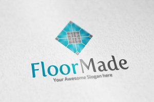 Floor Made Logo Template