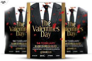 THE VALENTINES DAY Flyer Template