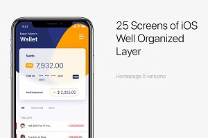 Finansi 25 iOS screen Financial App