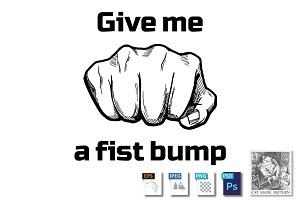 Give me a fist bump