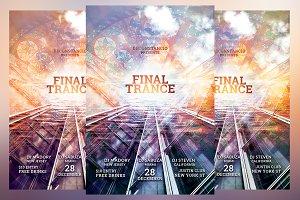 Final Trance Flyer