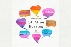 Stratum Bubbles illustration