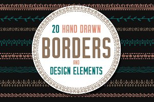 Borders, elements and brushes