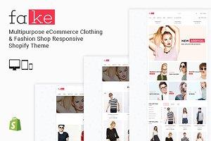 Fake - Responsive Shopify Theme