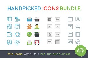 The Handpicked Icons Bundle