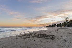 Beach of Benicassim (Castellon).