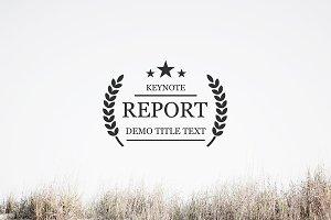 Report Keynote Template