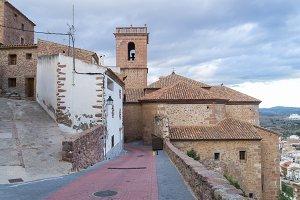Street of Vilafames (Castellon, Spai