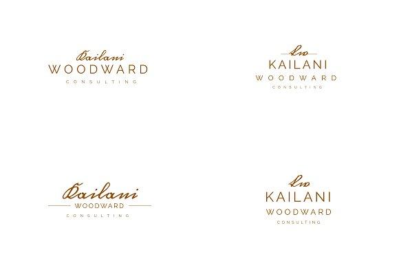 Kailani Woodward Logo