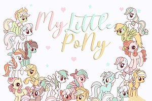 My Little Pony Clipart Unicorn PNG