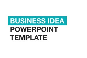 Business Idea PowerPoint template
