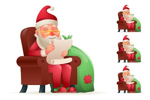 Sit Christmas Santa Claus