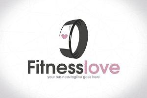Bracelet Fitness Logo Design