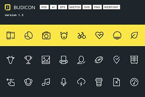Budicon -850 Scalable Vector Icon