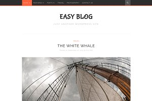 EasyBlog Minimal Wordpress Theme
