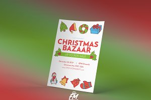 Christmas Bazaar Flyer Template v2