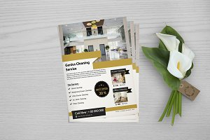 Cleaning Services Flyer  V717