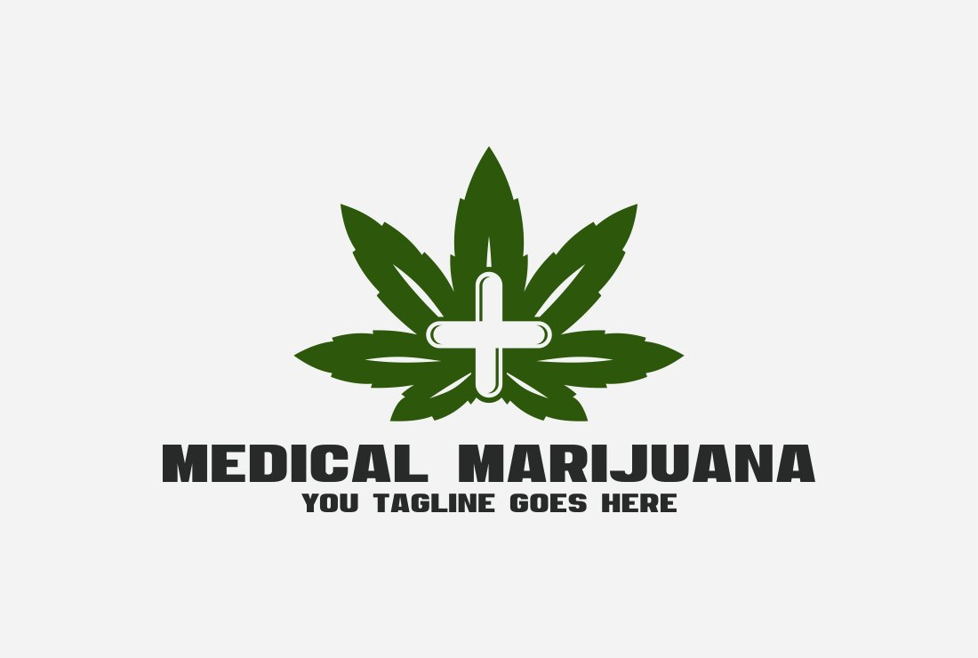 Medical marijuana. Cannabis logo ~ Logo Templates ~ Creative Market