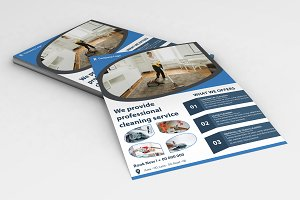Cleaning Services Flyer V718