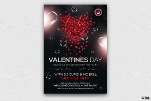 Valentines Day Flyer Template V14