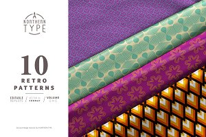 Retro Repeat Pattern Collection