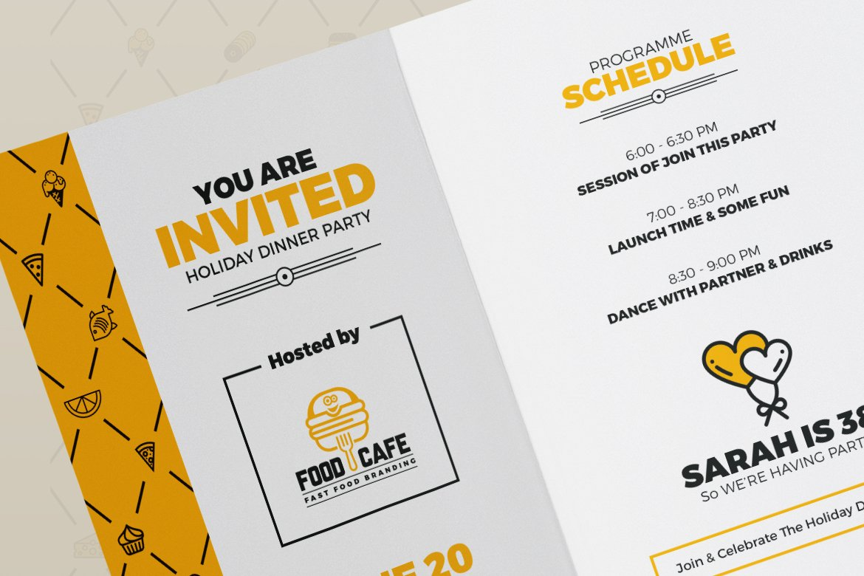 Grand Opening Invitation Card | Creative Illustrator Templates ~ Creative  Market