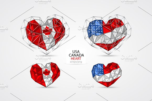 USA CANADA HEART