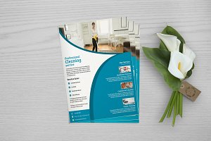 Cleaning Services Flyer V719