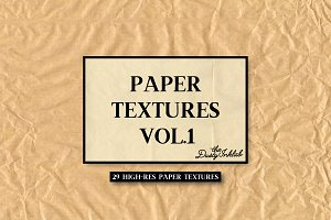 Paper Textures Vol. 1